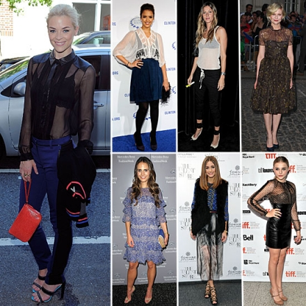 What Will The Celebs Be Wearing This Fall?