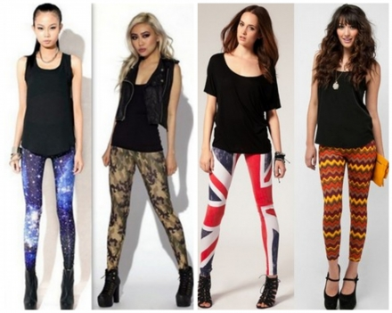 Why Wearing Leggings As Pants is a Big Fashion No!