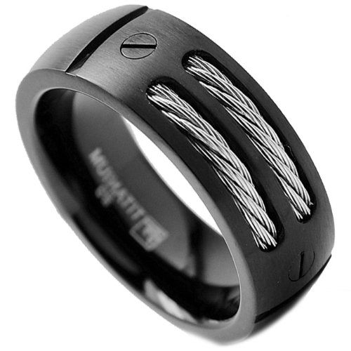 mens-black-titanium-diamond-wedding-rings