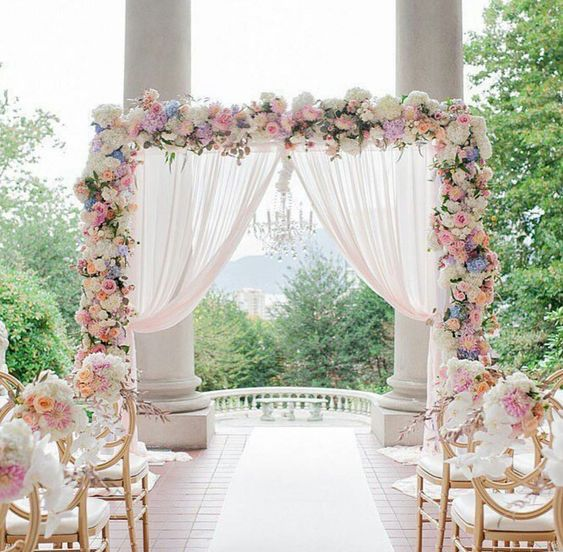 5 Stunning Wedding Entrance Decorations for Special Day